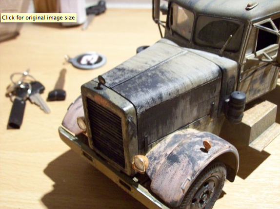 Another Duel truck model 1/43