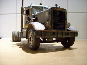 Another fantastic Duel truck model