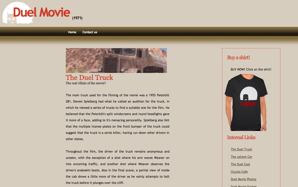 Duelmovie website
