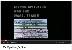 Spielberg's beginnings