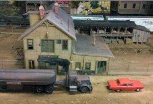 Duel diorama