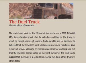 Duel truck info