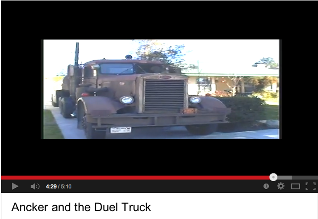 Duel fans visit surviving truck