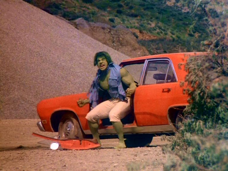 Hulk episode with Duel footage