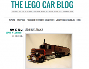 Lego Duel truck