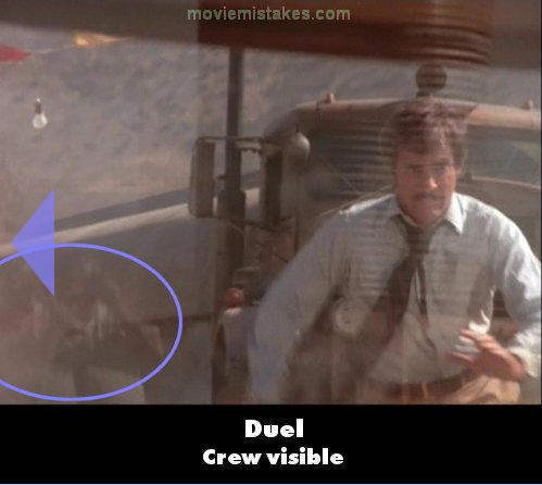 Duel movie mistakes