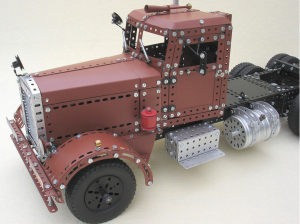 Radio controlled Duel truck model