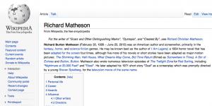 Richard Matheson Wikipedia