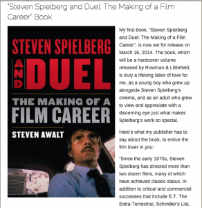 Steven Spielberg and Duel book