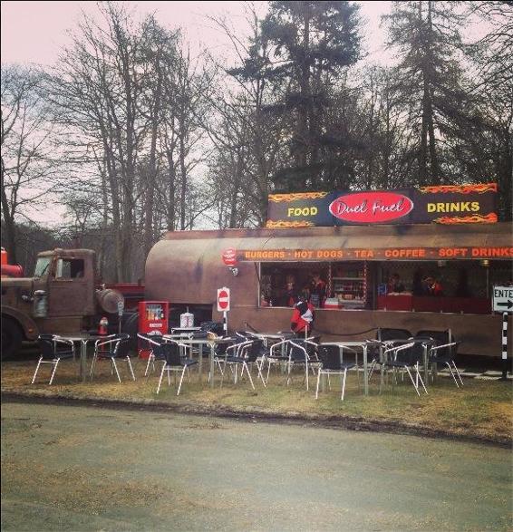 The Duel restaurant-truck