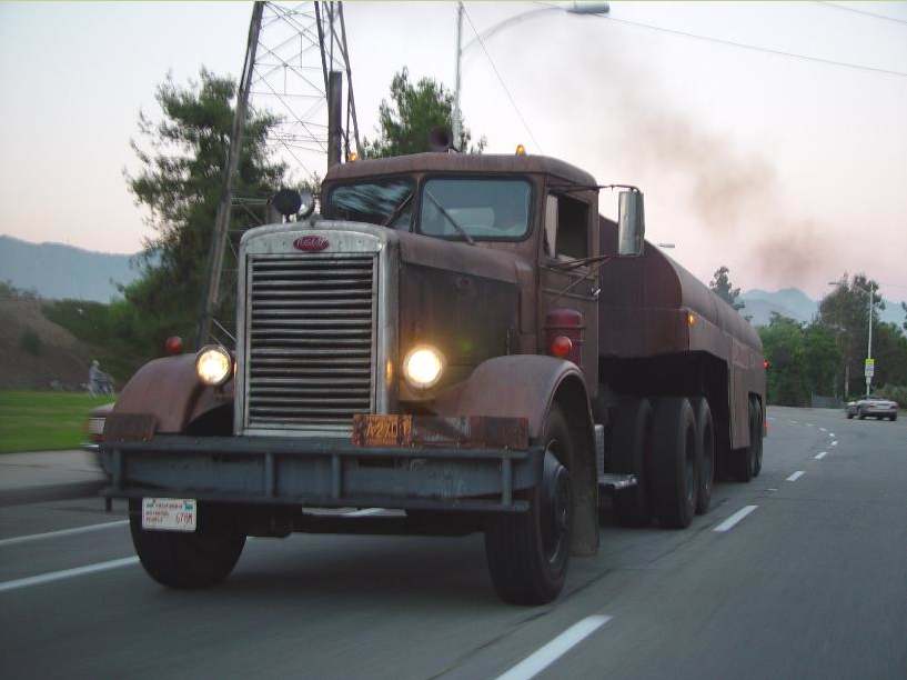 The Duel trucks-1