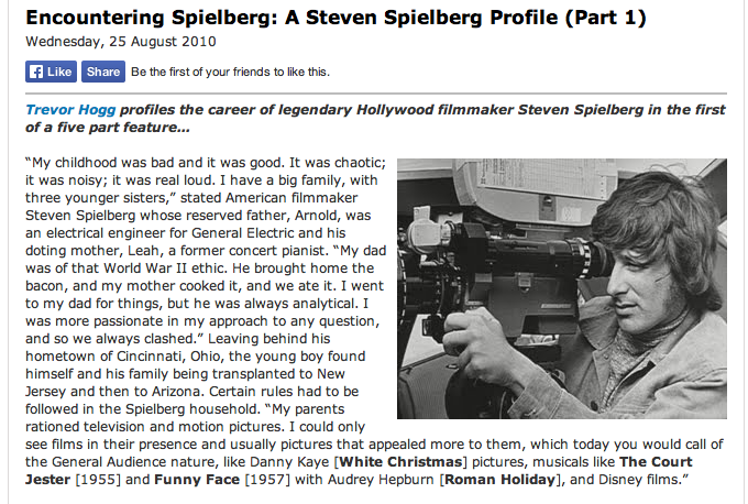 More young Spielberg