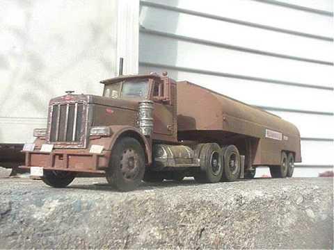Duel truck model 1:32 scale