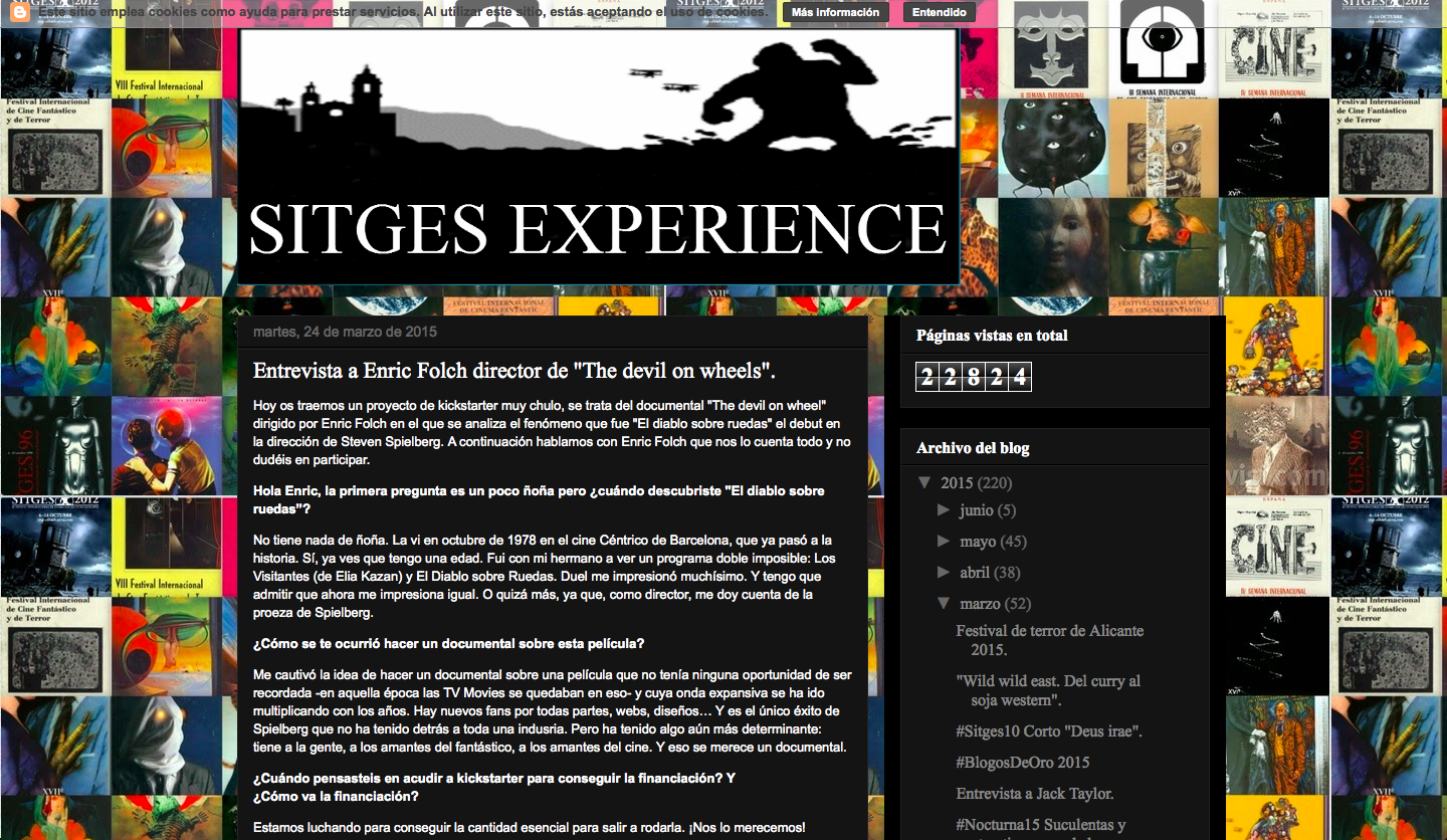 SITGES EXPERIENCE on DOW (Spain)